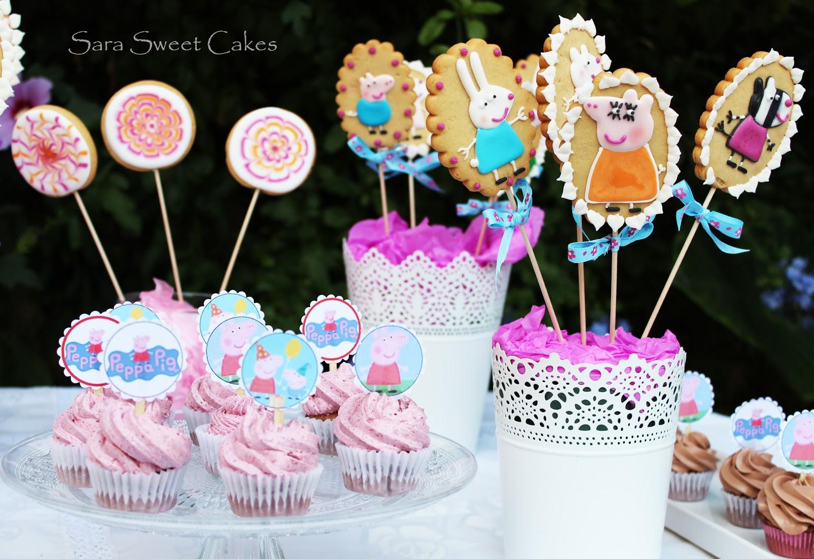 Sara sweet cakes mesa dulce peppa pig para paula for Mesa de peppa pig