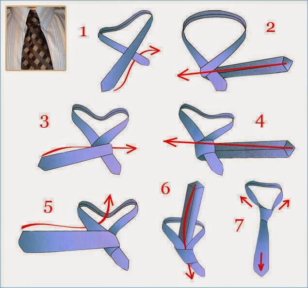 Kaklaraiščio rišimas Nr.7