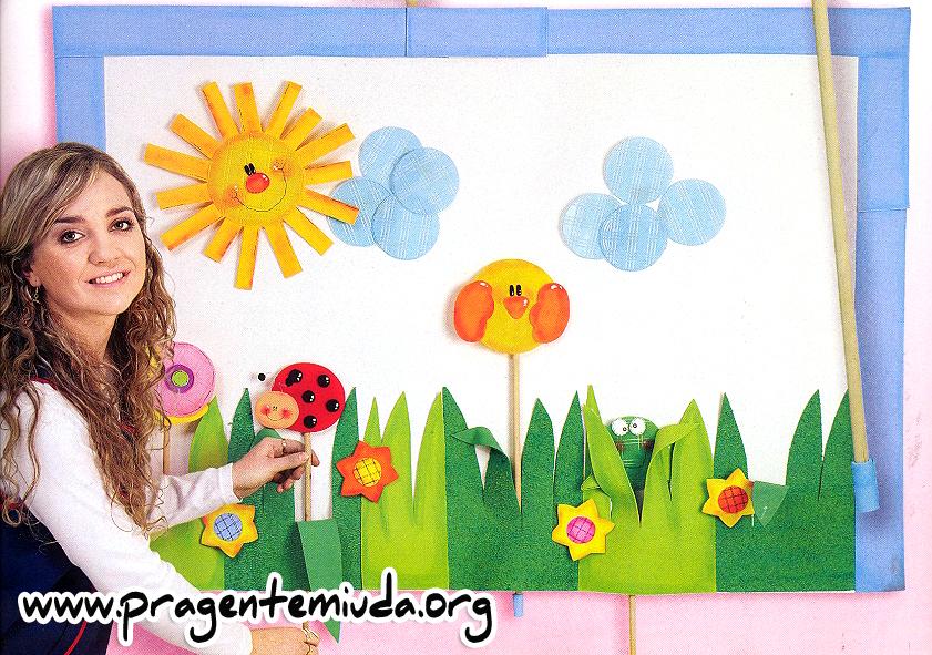 projeto de educação infantil para trabalhar primavera