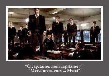 Le cercle des poètes disparus- scene finale http://prendre-le-temps-de-ralentir.blogspot.fr/