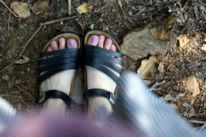 betula birkenstock black sandals