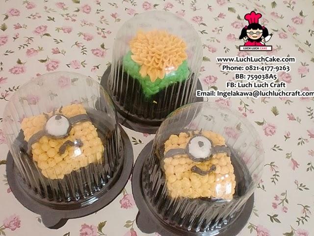 cupcake minion daerah surabaya - sidoarjo