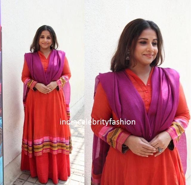 Vidya Balan in Anarkali suit
