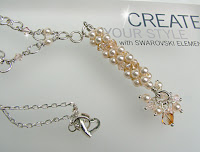 Swarovski Coleman Beaded Dangle Necklace