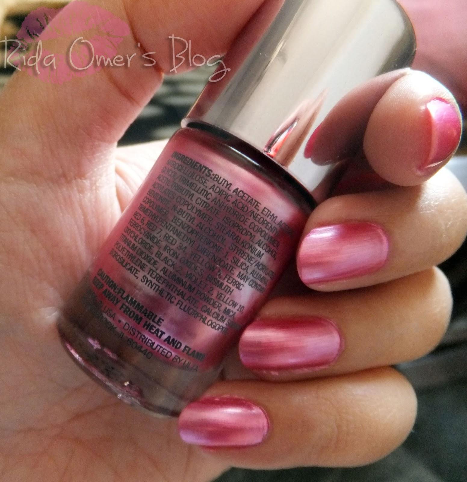 Ulta Salon Formula Nail Lacquer 'Pink Marble' Swatches