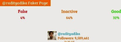 raditya dika fake followers