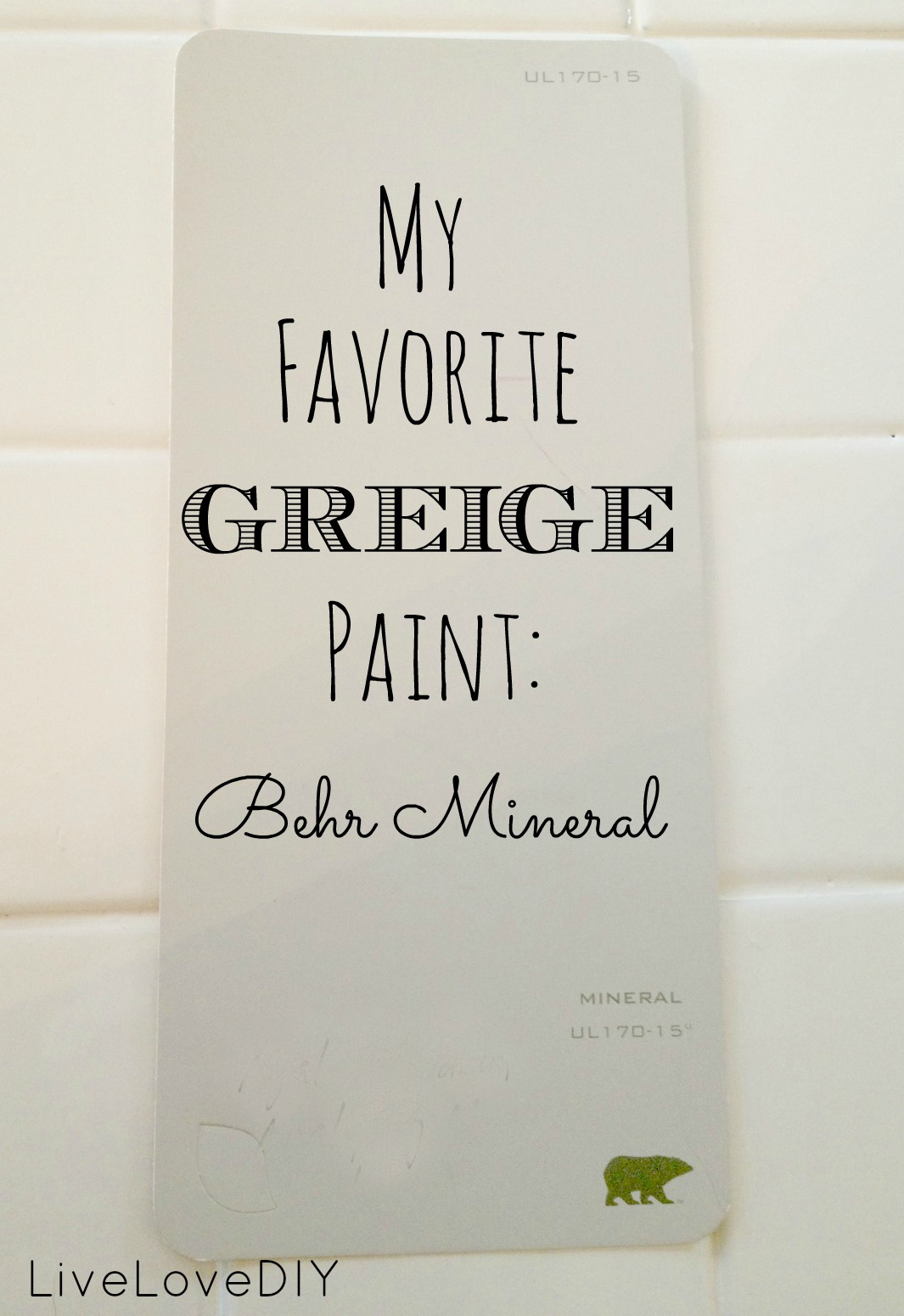 Best Greige Paint Color