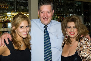 Maria Venuti and her daughter Bianca and I
