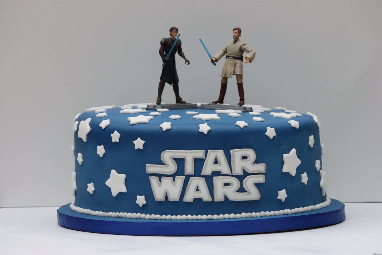 Whimsical By Design Ryans Star Wars Birthday Cake