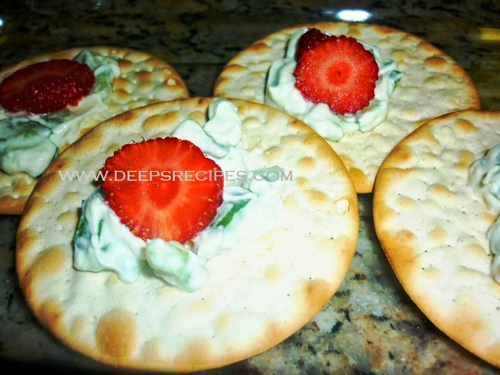 Easy Starter recipe;Italian Cracker with Topping