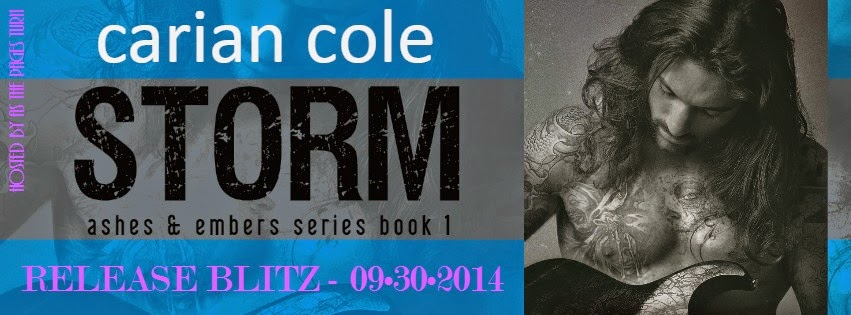 Release Blitz + Giveaway – Storm by Carian Cole