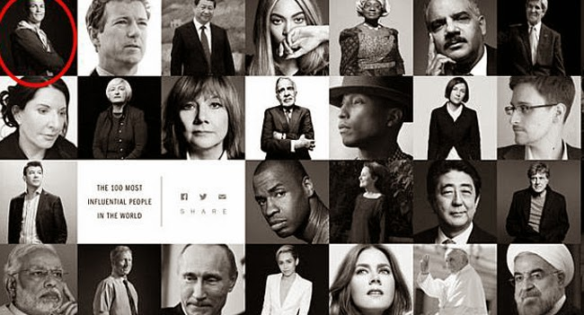 Time magazine list of 100 most influential people in the world