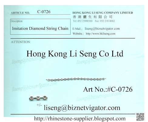 Imitation Diamond String Chain Supplier.blogspot.com