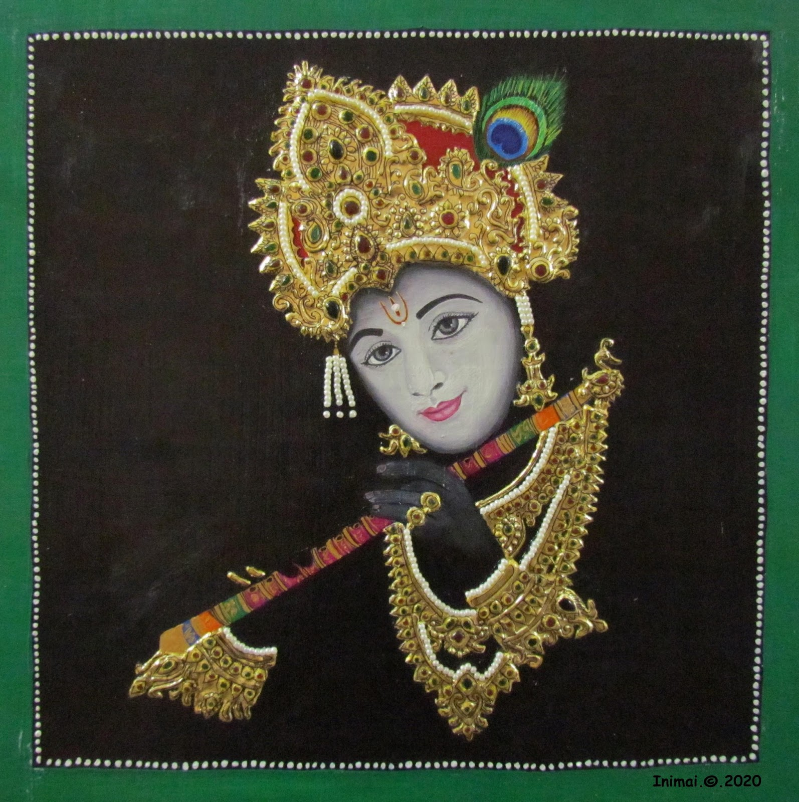 Spot: Tanjore Painting