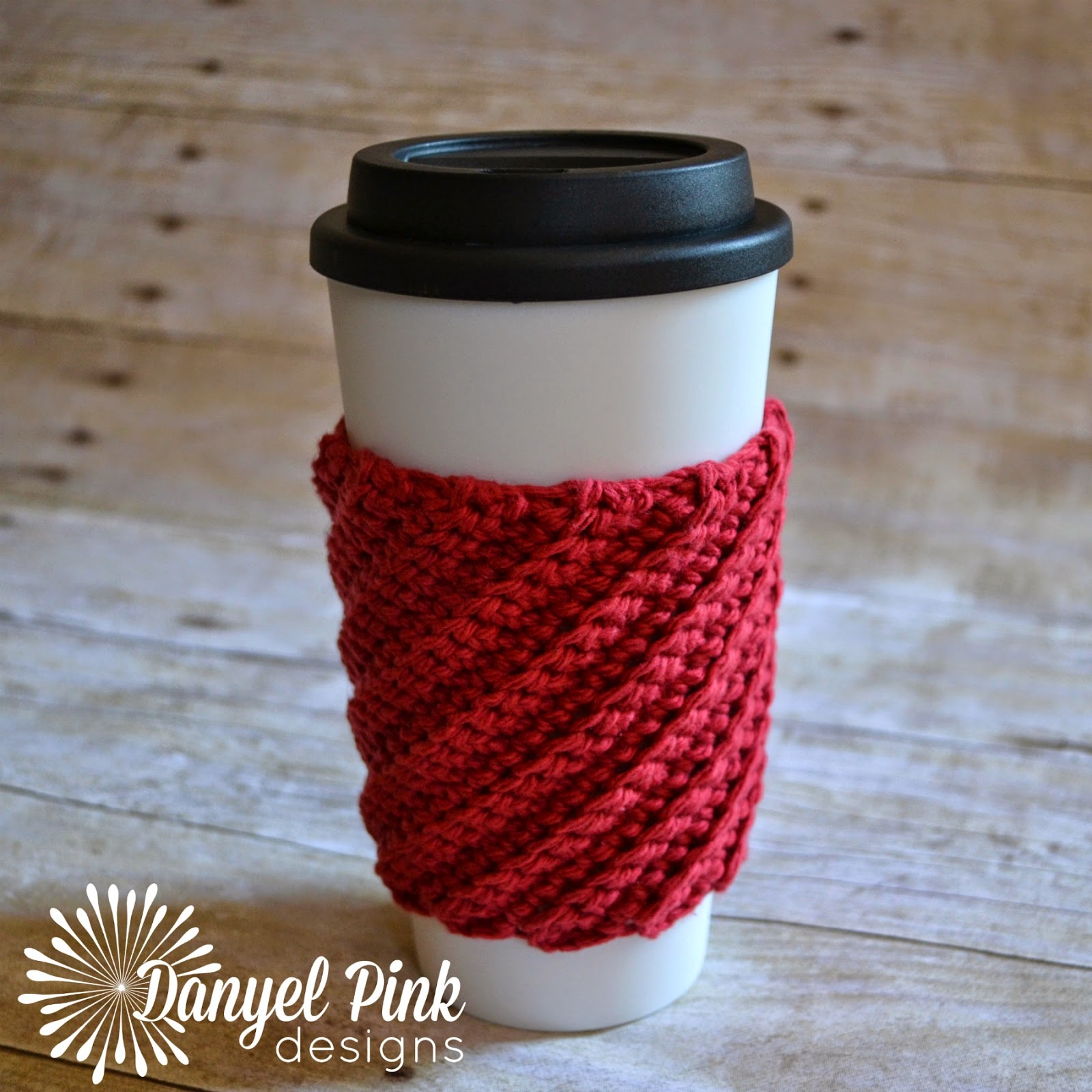 Danyel Pink Designs: CROCHET PATTERN - Crooked Coffee Cozy