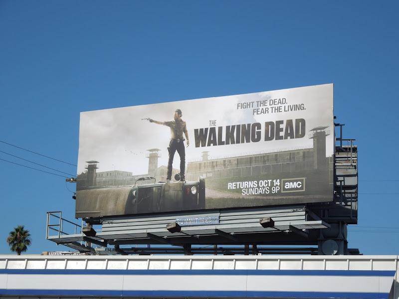 Walking Dead season 3 abc billboard