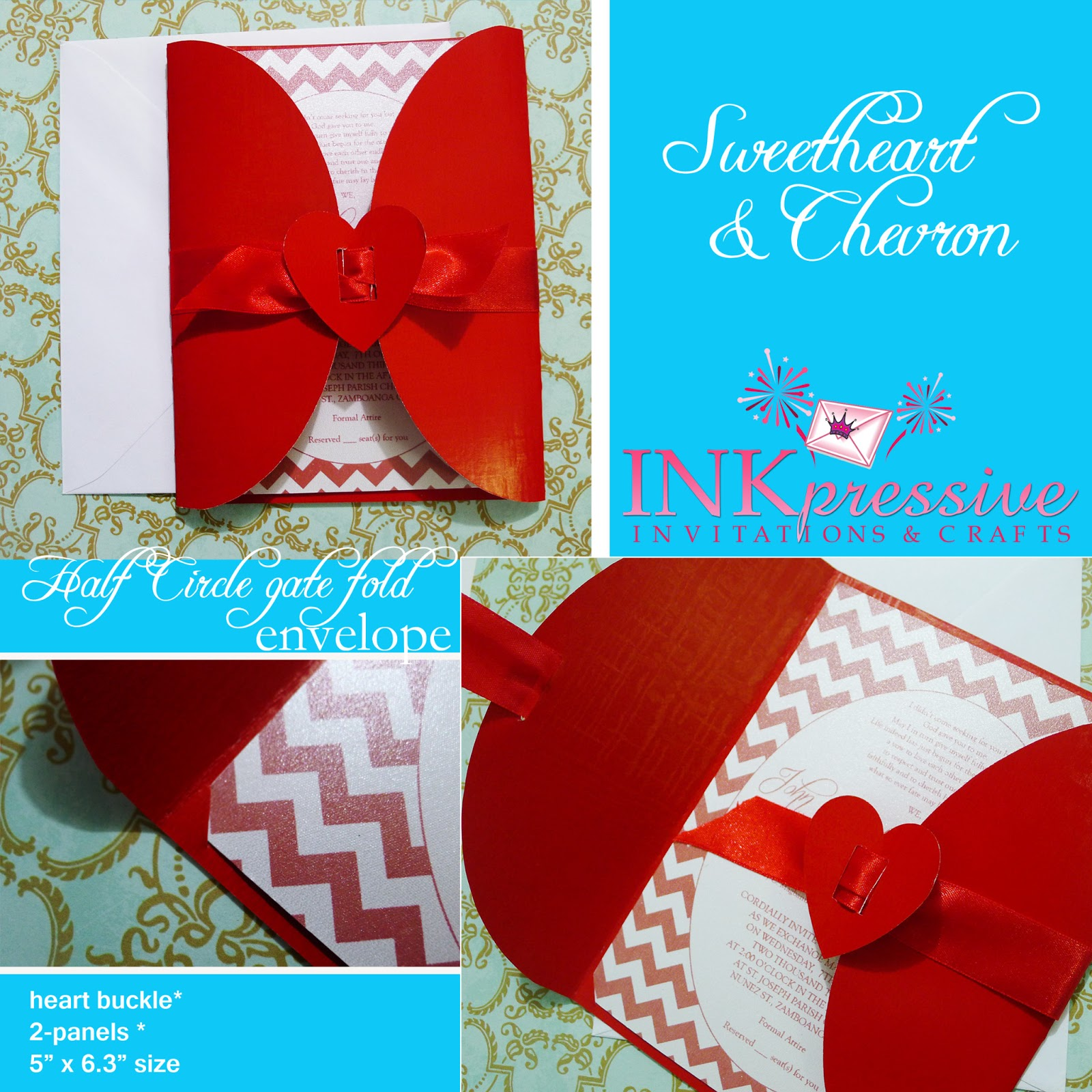 Turquoise Wedding Invitation was luxury invitation example