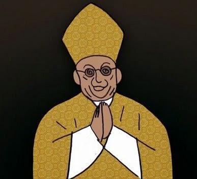 Chiste religioso, novicia, convento, carta, monseñor.