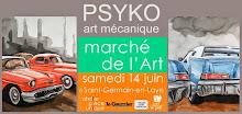 Je serai présent au marché de l'art de St Germain en Laye