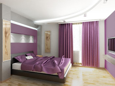 Decoración y afinidades: el color violeta o lila en las habitaciones