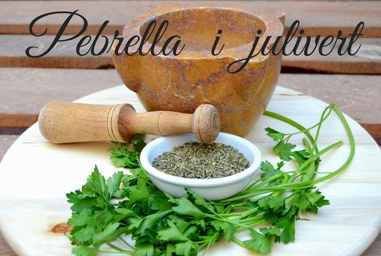 Pebrella i julivert