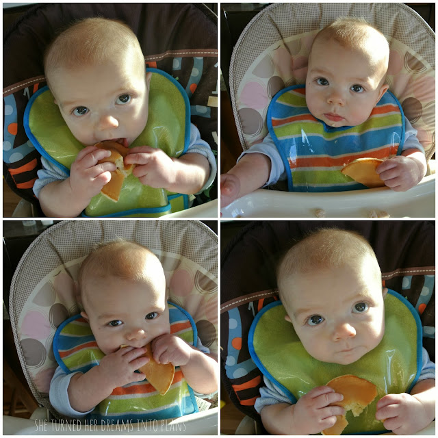 Babies Eating Pancakes