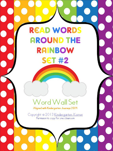 https://www.teacherspayteachers.com/Product/Reading-Words-Around-the-Rainbow-Journeys-763723