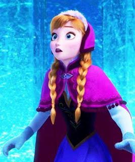 Gambar Anna Frozen gratis