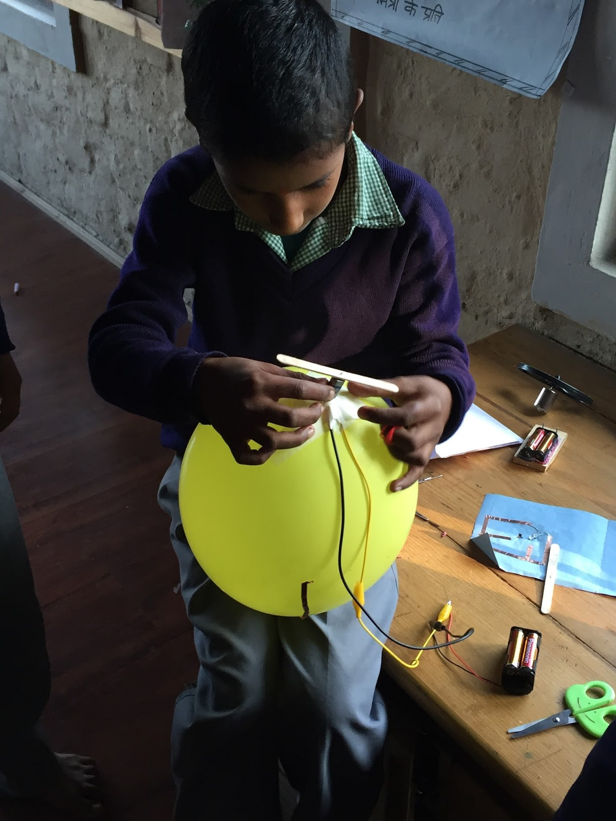 This project is inspired by arvind gupta s toys from trash initiative http www arvindguptatoys com films html