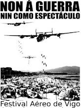 Contra o Festival aéreo de Vigo