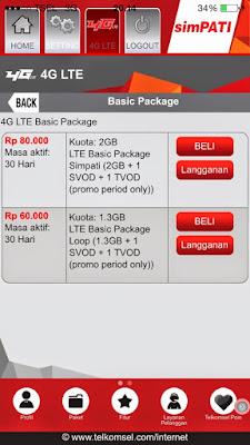 Cara Registrasi Kartu Telkomsel 4G LTE Daftar Paket Terbaru caramembuatkoneksi.blogspot.com