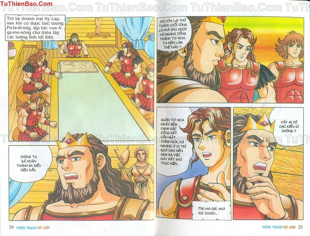 Thần thoại Hy Lạp Chapter 14 - Trang 11