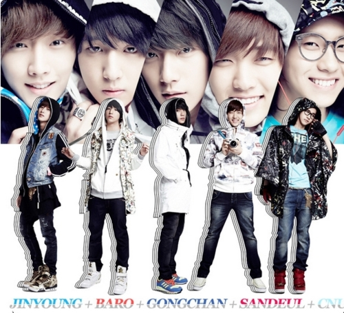 B1A4  B1a4 Sandeul And Jinyoung