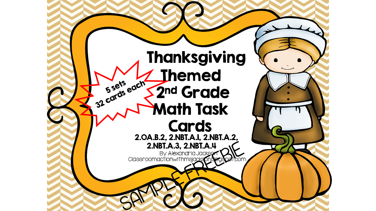 http://www.teacherspayteachers.com/Product/2nd-Grade-Thanksgiving-Themed-Math-Task-Cards-1534004
