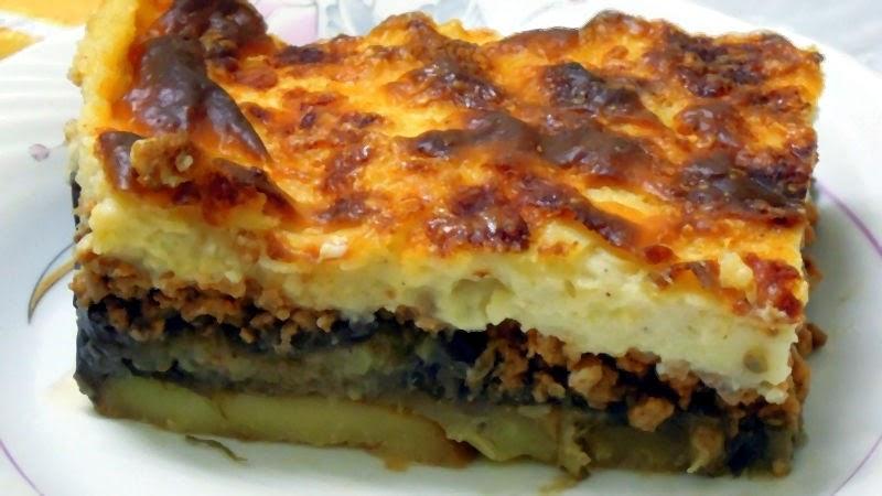 Мусака по-гречески - Ресторан дома