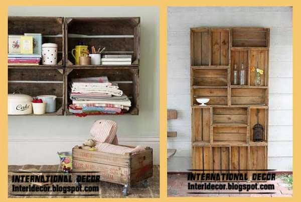 eco friendly furniture, eco shelves and cupboard