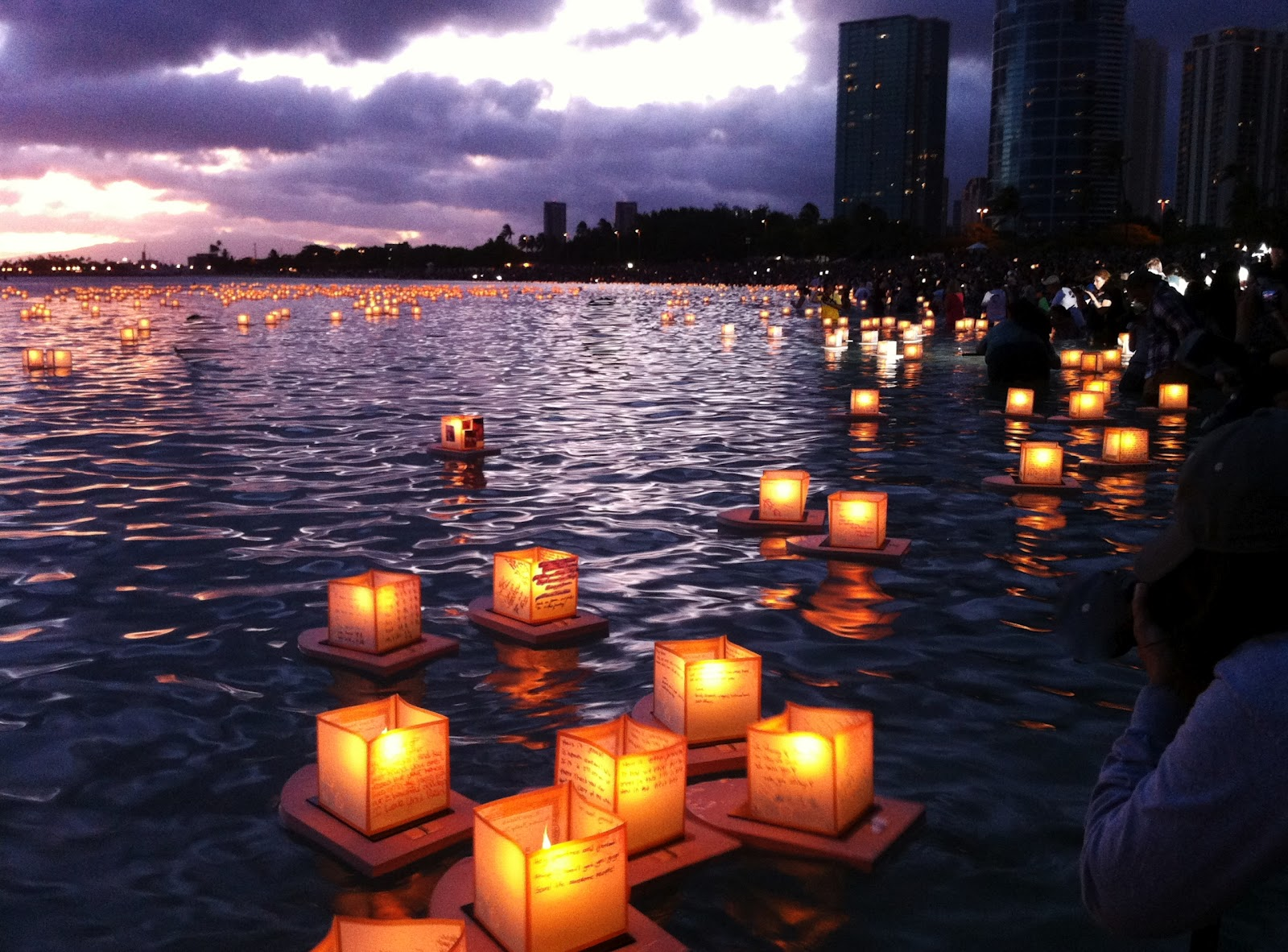 miscellany of me lantern floating festival