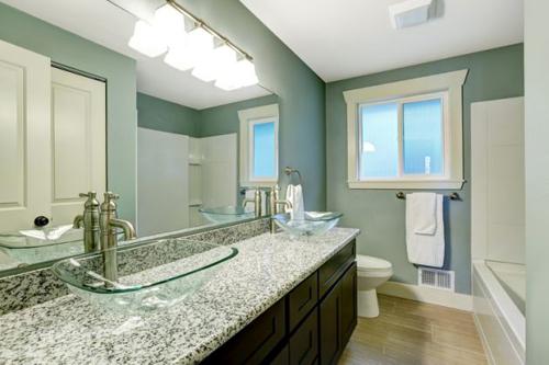 những cách làm mới nhà tắm đơn giản