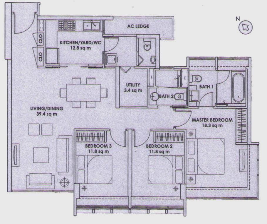 Floor Plan Feng Shui January 2014