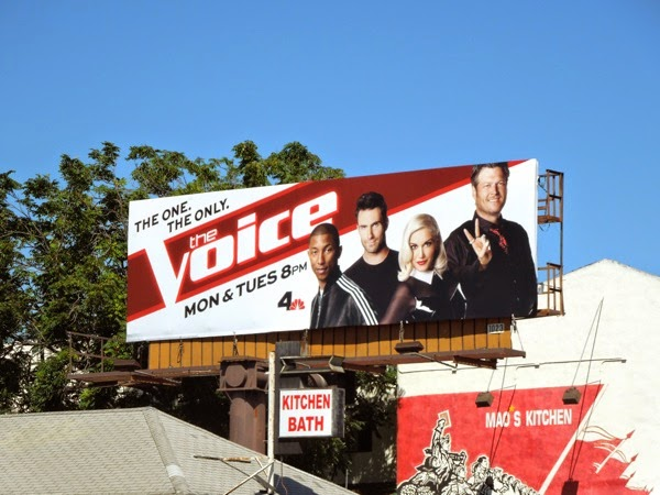 The Voice season 7 billboard