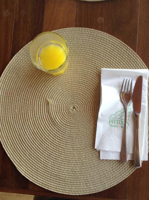 Café-da-manhã do Hotel Jatiúca
