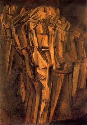 Jove trist en un tren (Marcel Duchamp)