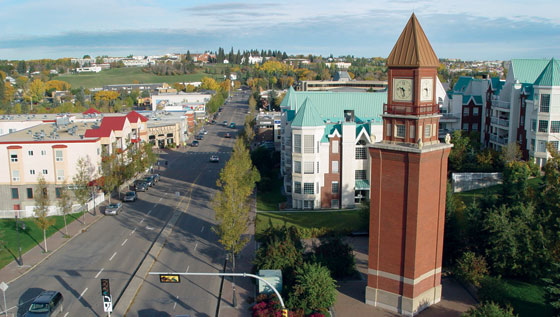 Saint Albert (AB) Canada  city images : Newcomers & Visitors to Canada Net: The Perron District