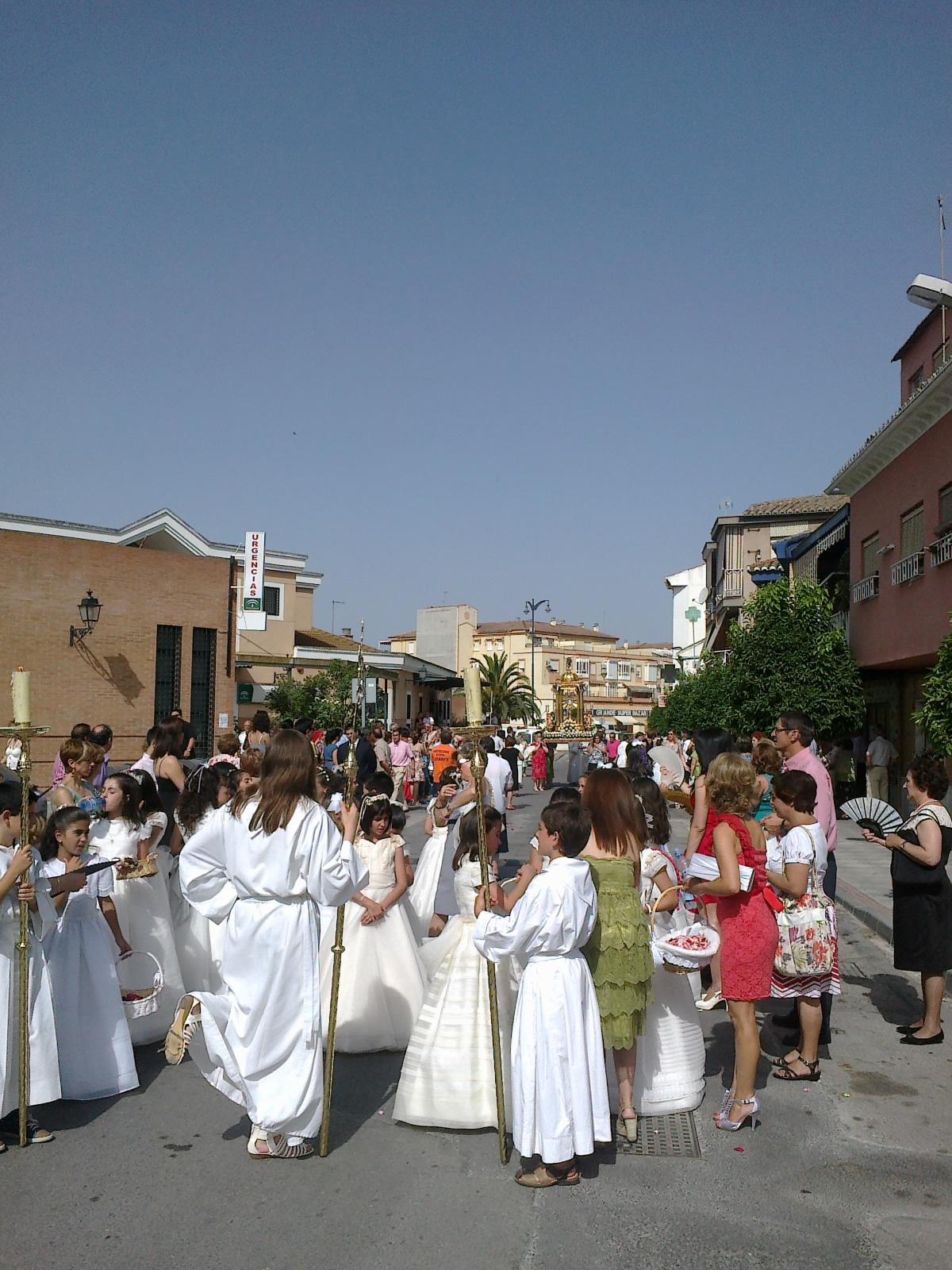 Proteccion civil atarfe procesi n del corpus christi en - Santa ana atarfe ...