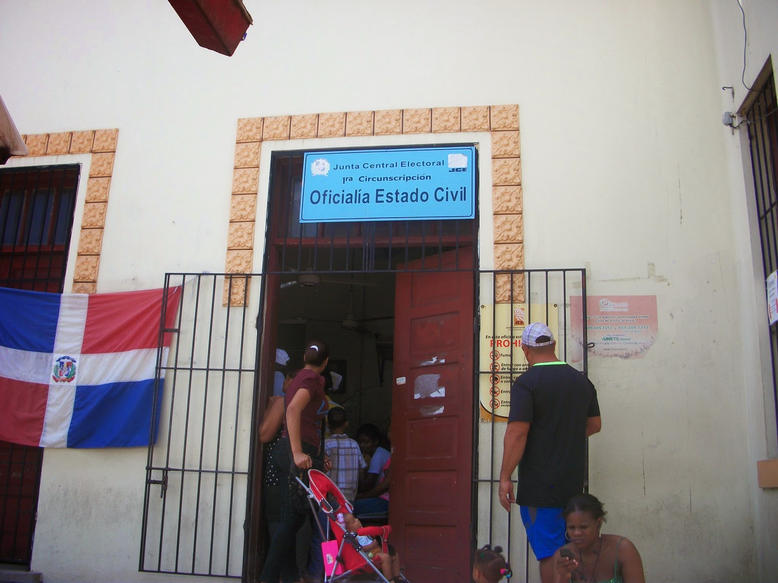 Solicitan  a la JCE traslado de la primera circunscripción de la Oficialía de Estado Civil de SC