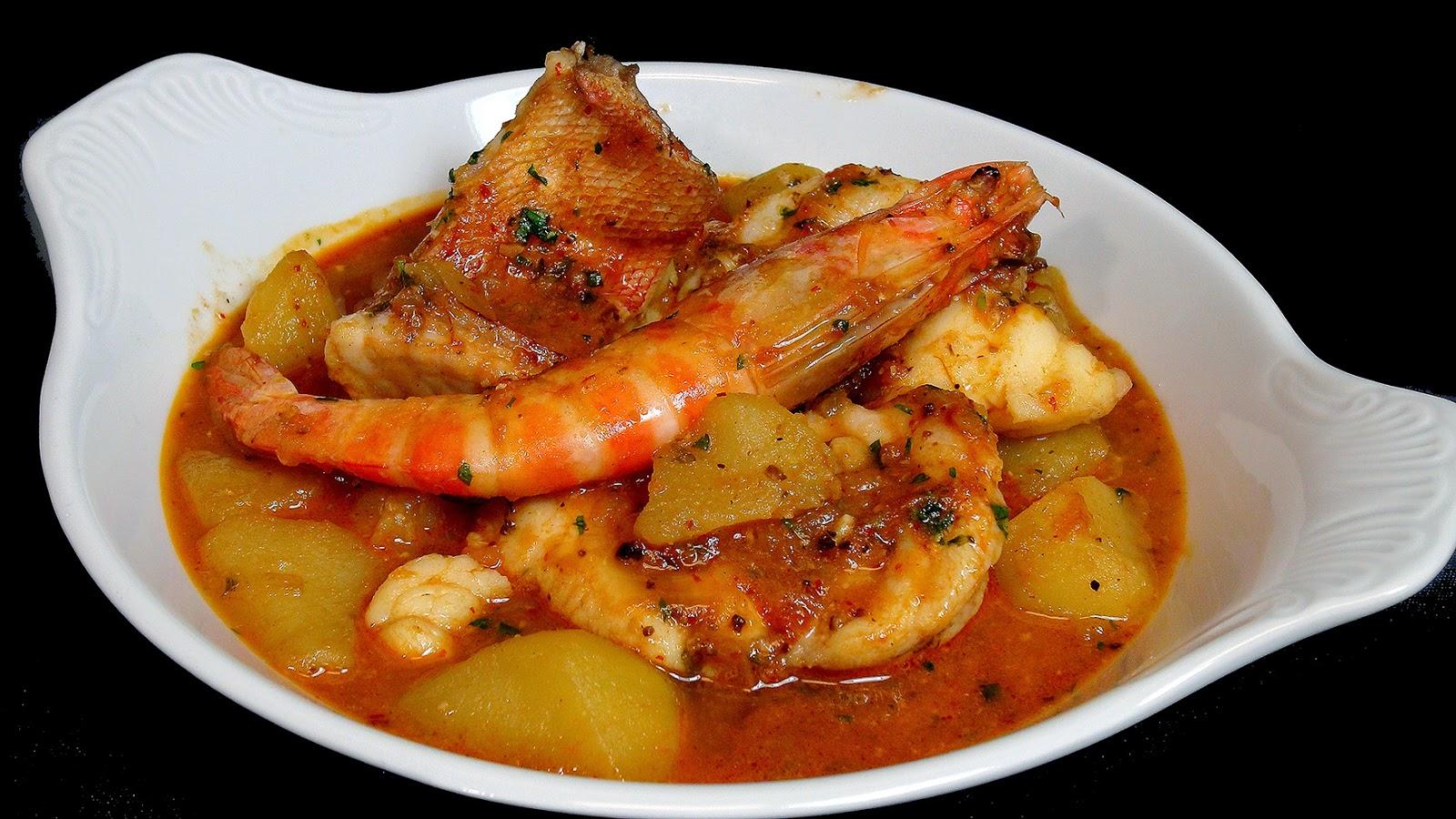 Cocinar para los amigos suquet de pescado for Resetas para cocinar