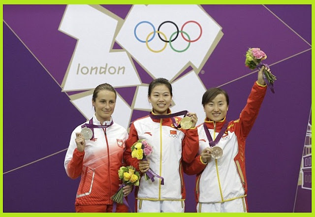 Olympics Live first gold medal to China 2012