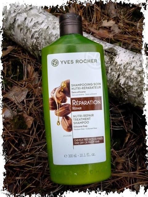 Yves Rocher, Szampon odbudowujący z olejkiem jojoba
