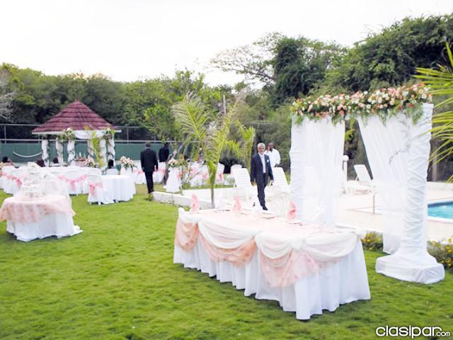 ideas para decorar fiesta de boda: ideas para bodas al aire libre