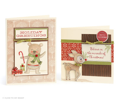 Holiday Cards and Scrapbook Layout